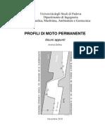 Idraulica - Profili Moto Permanente
