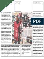 Media - Dizzee Rascal Double Page Spread Analysis