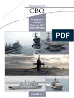 CBO Analysis of Navy's 2015 Shipbuilding Plan