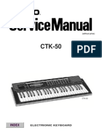 Casio CTK50 Service Manual