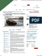 Un Carro Que Es Víctima de Una Inundación Sí Se Puede Arreglar