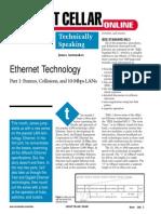 Ethernet Frames Collisions