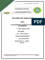 Los Regímenes Laborales en El Perú