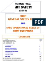 ABT Shop Safety Rules and Procedures
