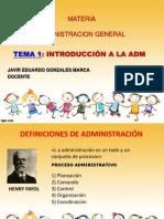 Administracion General-tema 1