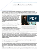 catholicmessenger net-ecumenical work on human trafficking impressesvatican