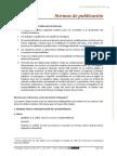 normas publicación pedagógica
