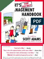 Dogbert Top Secret Mgt Book