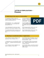 Letter of Application_Phrases