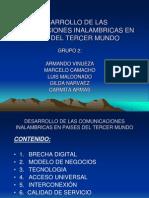 Presentaciòn Desarrollo de las comunicaciones inalambricas GRUPO 2.ppt