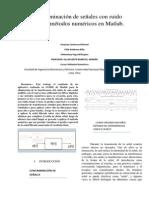 Descontaminadord e Señales Con Matlab