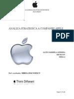 Analiza Strategica - Apple SAVIN