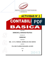 Actividad de Aprendizaje Contabilidad Básica i Unidad de Aprendizaje 1