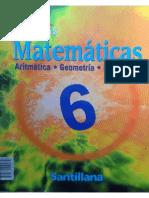 Nuevas Matematicas 6 Santillana