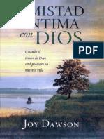 Joy Dawson Amistad Intima Con Dios