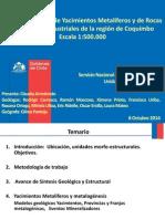 Mapa Yacimientos Metaliferos Region Coquimbo
