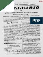 El Semanario del 13 de agosto de 1853 N°13