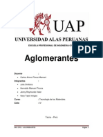 Aglomerantes Final Word