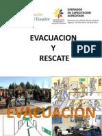 Evacuqcion y Rescate