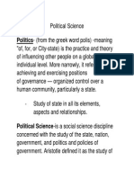 Small Verison Political Science
