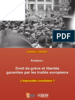 """Droit de Grève - Collection """"Cepess"""" (Analyses) - Auteur"""