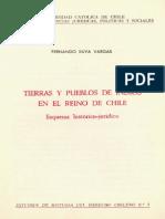 Tierrasy Pueblos de Indios en El Reino de Chile, Fernando Silva