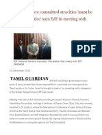 People Who Have Committed Atrocities 'Must Be Brought to Justice' Says BJP in Meeting With BTF
