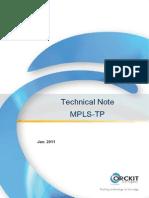 Orckit-Corrigent MPLS-TP Technical Note 1212