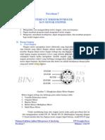 Percobaan 7 Interface Mikrokontroler Dan Motor Stepper