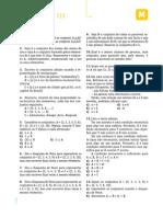 EXERCÍCIOS GERAIS - Geometria e Conjuntos