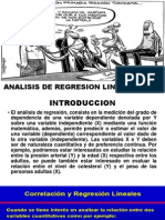 Analisis de Regresion Lineal Simple Lfvg