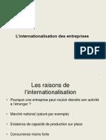 L_internationalisation Des Entreprises