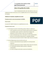 Methode d Evaluation Et de Gestion Des Stocks