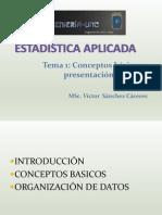 Estadistica-presentacion de Datos