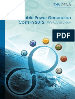 Irena Costing Power Sector