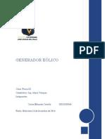 Genera Dor eolico casero