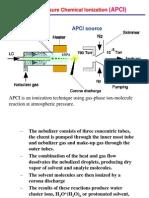 Ionization Methods-3 (API)