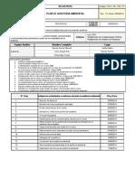 Plan de Auditoria Ambiental