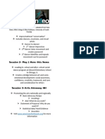 ndeo debrief key points