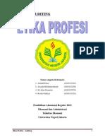 Etika Profesi - Auditing