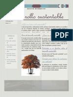 Boletín informativo (Desarrollo Sustentable)