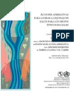 Acción e Implementacion de Acción Afirmativa