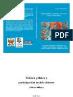 J Sosa políticas públicas y participación social