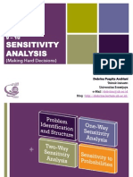 9 10 Sensitivity Analysis