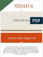 Protocolo Notarial