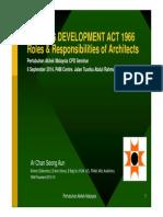HDA Roles Responsibility Arch PAM Csa 20140906