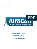 Alfacon Agente Administrativo Da Policia Federal Pf Nocoes de Informatica Joao Paulo 3o Enc 20131130200616