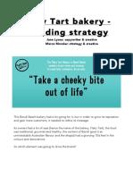 Branding strategy for Flaky Tart bakery