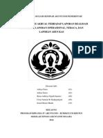 PENGARUH BASIS AKRUAL TERHADAP LAPORAN REALISASI ANGGARAN, LAPORAN OPERASIONAL, NERACA, DAN LAPORAN ARUS KAS