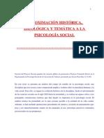 Aproximación Histórica, Psicologia Social